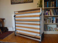 Folding double Jay-be guest bed - excellent condition