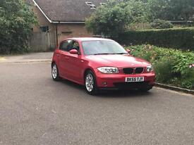 2005 Bmw 1 series 118 d se model With Extras diesel manual valid mot 1 previous company owned px