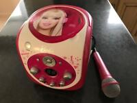 Barbie CD player and sing along microphone