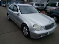 MERCEDES BENZ C180 CLASSIC AUTOMATIC 2002 REG LEATHER