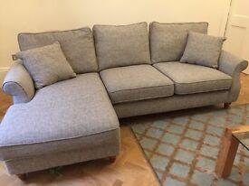Nearly new Next Sofa Chaise Sofa