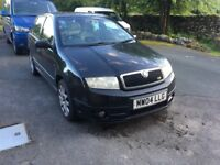 Skoda Fabia vRS well looked after and maintained