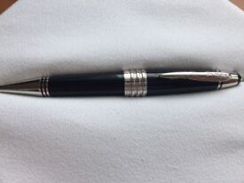 Mont Blanc JFK special edition ballpoint pen, complet, warranty