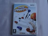 4 Wii Games - Game Party, Movie Studios Party, Instant Artist and Cooking Mama