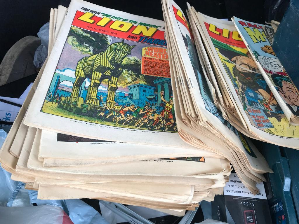1970's lion comics