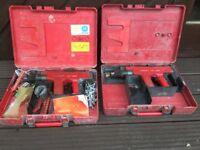 450 HILTI cartridge nail gun (2 of)
