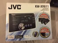 Car headunit great condition - JVC KW-XR611