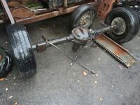 FORD TRANSIT 350 BACK AXLE,SINGLE WHEEL,MK6, TDDI,£ 195,