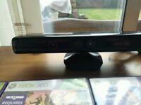 XBox 360 Kinect Sensor + 4 games