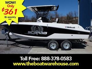 2016 Wellcraft 242 Scarab Fisherman Yamaha 300hp Four Strokes ..