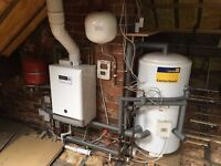 Baxi Boiler & Centrestore Tank with expansion valves and Honeywell Wireless Thermostat. All Working!