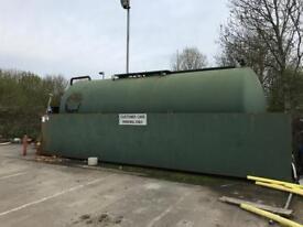 40,000ltr Bunded Diesel Fuel Tank/Storage Pump Industrial