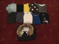Bundle Joblot Of Women's Ladies Clothes Size UK 14-16 Jacket Trouser Jeans Leggings B191RS Birmingha