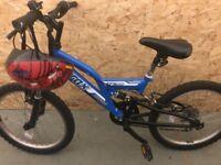 Blue Trax bike for sale