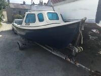Orkney strikliner 16+ Boat & 25hp 4 stroke outboard..£3900ono Donaghadee.
