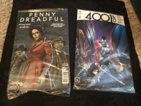 Penny Dreadful & 4001ad special edition comics brand new in packs