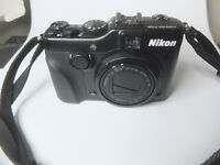 Nikon Coolpix P7100 + Strap + Charger + Strap + Battery