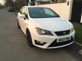 2013 SEAT IBIZA FR with WARRANTY & 2 FREE SERVICES, LOW MILEAGE, SAT NAV, CRUISE CONTROL, A/C