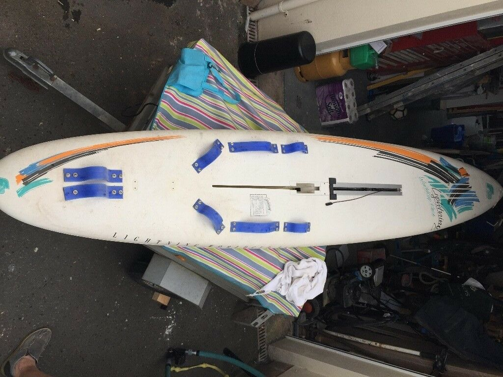 F2 Lightning World Cup Race Windsurfing board and complete kit  | in  Paignton, Devon | Gumtree