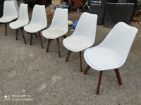 6 Dining room chairs. Six dining chairs £25