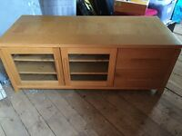 Large Wooden TV Cabinet