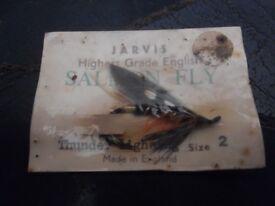 vintage fishing salmon fly thunder lightning size 2
