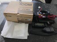 ICOM IC-2730E Transceiver With Power Supply