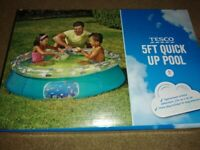 Tesco 5ft Quick Up Pool
