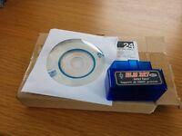 OBD2 port reader scanner v2.1 Bluetooth