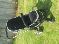 icandy Peach 2 with peach 3 carry cot