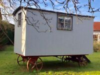 Hand Crafted Shepherds Hut For Sale In Framlingham. Ipswich