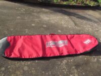 Alder 8 foot raised tail padded surf board bag