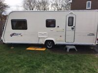 BAILEY PAGEANT CHAMPAGNE SERIES 6 with isabella awning
