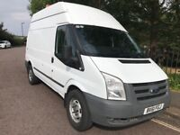FORD TRANSIT, T350 2.4 TDCI, DURATORQ MWB HIGH ROOF, 2012 (61 PLATE)**NO VAT**NEW MOT, ONE OWNER