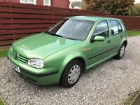 VW Golf 1.6S Mk4. MOT July 2018. Great running car... sorry you have to let it go!