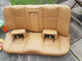 Alfa Romeo 156, 147, GT leather Seats Creme Color