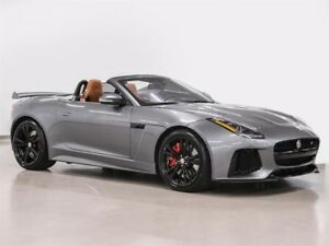 2017 Jaguar F-Type Convertible SVR AWD @2.9% INTEREST CERTIFIED