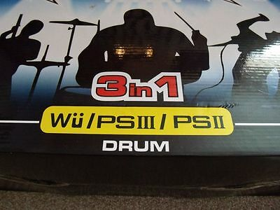Nintendo Wii Drum kit 3in1