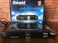 Geant GN 5500 Titan Satellite Receiver recepteur
