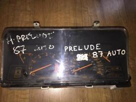 Honda prelude 1987 Speedometer AuTomatic