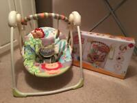 Bright Starts up, up and away baby swing