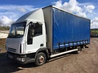 IVECO EUROCARGO 75E17 CURTAIN SIDE TRUCK WITH TAIL LIFT MOT JULY 2017 DRIVES 100% £2650 + VAT