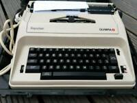 Electronic type writer great condition