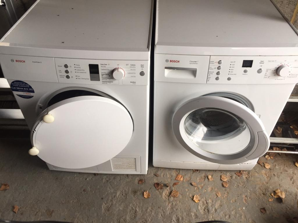 Washing Machines And Dryers ~ Bosch washing machine and tumble dryer in bath somerset