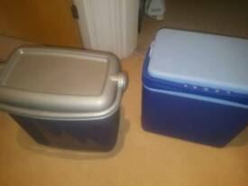 2x cool box 22 liters +15 ice paks