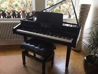 Roland KR11 Digital Mini Grand Piano KR11 (Black Gloss)