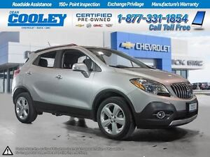 2015 Buick Encore CXL/0.9%FINANCING/HTD STEER WHEEL/ SUNROOF