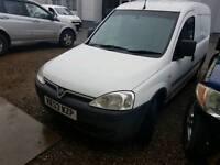 Vauxhall combo with lpg