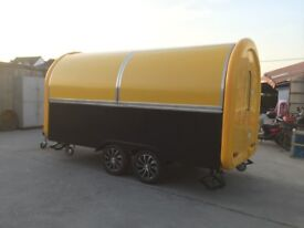 Mobile Catering Trailer Burger Van Hot Dog Ice Cream Cart 4000x2000x2400