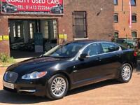 JAGUAR XF LUXURY V6 (black) 2008